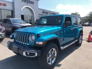 New 2019 Jeep Wrangler Unlimited Sahara 4x4 V6 for sale in Hamilton, ON