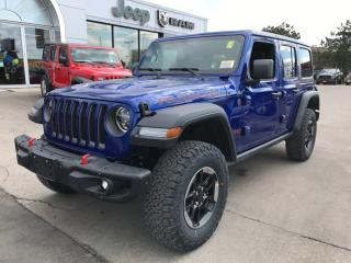 New 2019 Jeep Wrangler Unlimited Rubicon 4x4 V6 for sale in Hamilton, ON