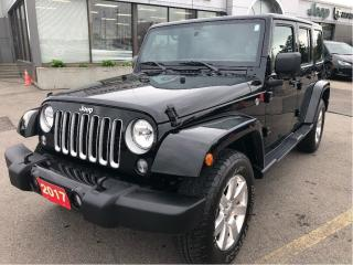 Used 2017 Jeep Wrangler JK Unlimited Sahara w/Leather, Navi, Dual Tops for sale in Hamilton, ON