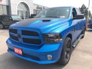 New 2019 RAM 1500 Classic Express Crew 4x4 V8 Hydro Blue Edition for sale in Hamilton, ON