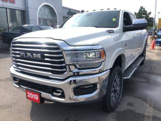 Used 2019 RAM 2500 New Longhorn Crew 4x4 6.7L Cummins Diesel for sale in Hamilton, ON