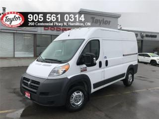 Used 2017 RAM 2500 ProMaster 136 WB High Roof Cargo Van for sale in Hamilton, ON