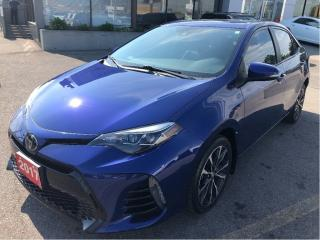 Used 2017 Toyota Corolla SE Automatic w/Heated Seats, Sunroof, Bluetooth, A for sale in Hamilton, ON