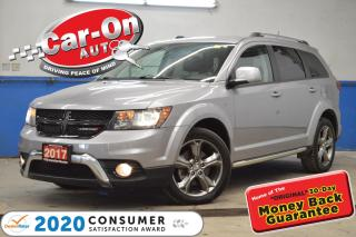 Used 2017 Dodge Journey Crossroad 7 SEAT LEATHER NAV SUNROOF DVD REAR CAM for sale in Ottawa, ON
