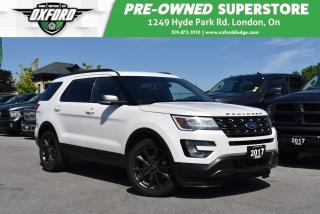 Used 2017 Ford Explorer XLT - One Owner, Roof Rack, Power Rear Hatch for sale in London, ON