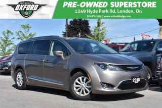 Used 2018 Chrysler Pacifica Touring-L Plus - Low Kms, Roof Rack, GPS, UConnect for sale in London, ON