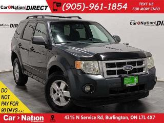 Used 2009 Ford Escape XLT| AS-TRADED| 4X4| BLUETOOTH| for sale in Burlington, ON
