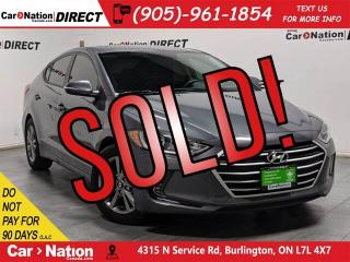 Used 2018 Hyundai Elantra GL SE| SUNROOF| APPLE CARPLAY & ANDROID AUTO| for sale in Burlington, ON
