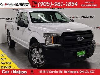 Used 2018 Ford F-150 XL FX4| BACK UP CAMERA| 4X4| LOW KM'S| for sale in Burlington, ON