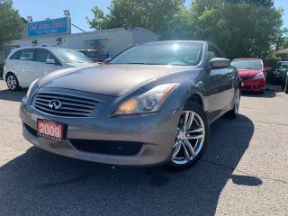 Used 2009 Infiniti G37 X 2dr x AWD *AMAZING CONDITION, ACCIDENT FREE, ONE OWNER* for sale in Brampton, ON