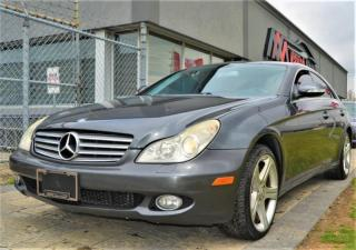 Used 2006 Mercedes-Benz CLS-Class 5.0L|NAV|SUNROOF|LEATHER for sale in Brampton, ON