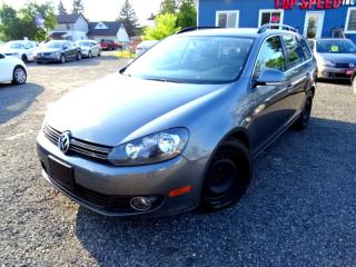 Used 2013 Volkswagen Golf Wagon Highline TDI 6SPD Leather Pano Certified for sale in Guelph, ON