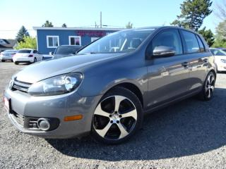 Used 2012 Volkswagen Golf Highline TDI DSG Navigation Leather Sunroof Bluetooth Certified for sale in Guelph, ON