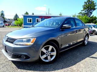 Used 2014 Volkswagen Jetta Comfortline TDI Sunroof Heated Seat Bluetooth Certified for sale in Guelph, ON