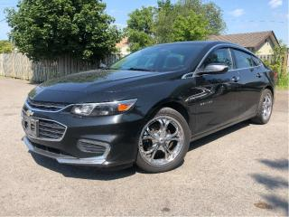 Used 2016 Chevrolet Malibu Selling AS IS Leather Sunroof Back Up Camera for sale in St Catharines, ON