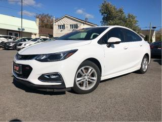 Used 2016 Chevrolet Cruze LT RS Pkg| 6 Spd| Htd Seats| Bluetooth | Alloys for sale in St Catharines, ON