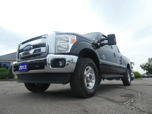 used 2014 ford f-250 super duty srw xlt- 6 7l powerstroke- backup camera-  bluetooth- low low km for sale in essex, ontario | carpages ca