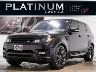 Used 2016 Land Rover Range Rover Sport Supercharged V8 NAVIGATION, PANO-ROOF, HUD, Camera for sale in Toronto, ON