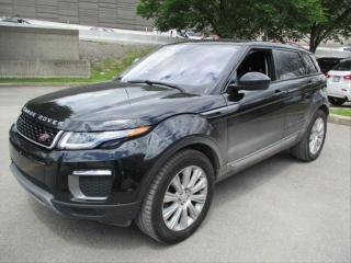 Used 2017 Land Rover Range Rover Evoque SE AWD, NAV, PANO, CAM, PUSH-BUTTON, BLINDSPOT Range Rover Evoque for sale in Toronto, ON