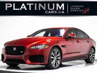 Used 2016 Jaguar XF S, AWD, BLINDSPOT, PANO, CAM, NAV, Keyless for sale in Toronto, ON