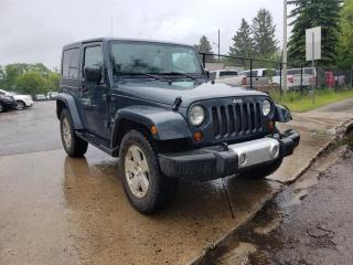 Used 2008 Jeep Wrangler Sahara 4x4 One Owner No Accidents! for sale in Edmonton, AB