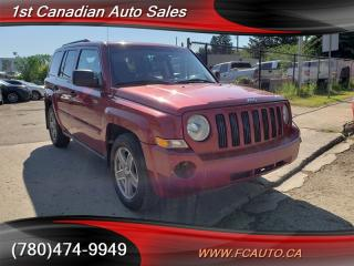 Used 2008 Jeep Patriot 4x4 Low KM'S No Accidents & One Owner! for sale in Edmonton, AB