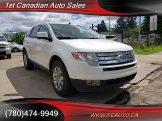 Used 2010 Ford Edge Limited 3.5L V6 AWD Leather No Accidents! for sale in Edmonton, AB