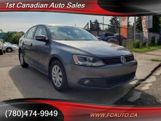 Used 2014 Volkswagen Jetta 2.0L Diesel Low KM'S & Payments! for sale in Edmonton, AB