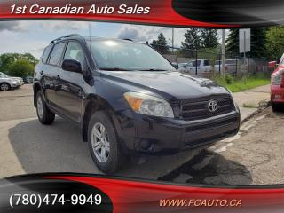 Used 2006 Toyota RAV4 4 cyl AWD Inspected & Warranty! for sale in Edmonton, AB