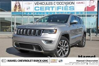 Used 2018 Jeep Grand Cherokee LIMITE DELUXE * TOIT PANO * CUIR NAPPA * CAMRA for sale in St-Léonard, QC