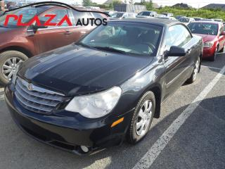 Used 2008 Chrysler Sebring Touring,CONVERTIBLE for sale in Beauport, QC
