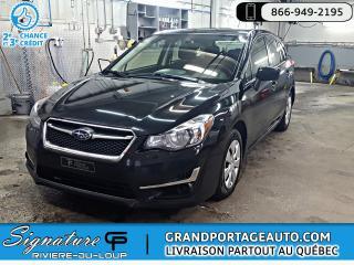 Used 2016 Subaru Impreza HB *CLEAN*5 portes CVT 2,0i for sale in Rivière-Du-Loup, QC