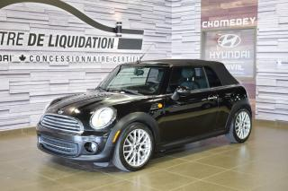 Used 2012 MINI Cooper Convertible for sale in Laval, QC