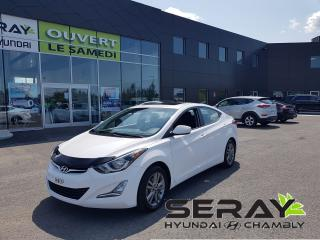 Used 2016 Hyundai Elantra GLS, mags, toit ouvrant, bluetooth for sale in Chambly, QC