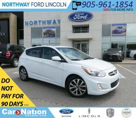Used 2017 Hyundai Accent SE | HTD SEATS | BLUETOOTH | SUNROOF | for sale in Brantford, ON