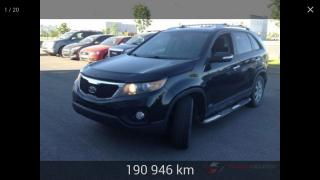 Used 2012 Kia Sorento Traction intégrale 4 portes V6, boîte au for sale in Charny, QC