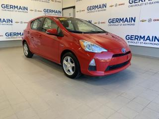 Used 2014 Toyota Prius C -HYBRIDE -AC - GR. ÉLECTRIQUE for sale in St-Raymond, QC
