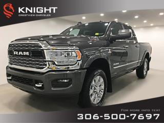 Used 2019 RAM 3500 Limited Crew Cab | Sunroof | Navigation | 12