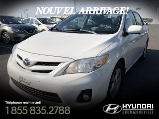 Used 2012 Toyota Corolla LE + TOIT + MAGS + A/C + CRUISE + FOGS + for sale in Drummondville, QC