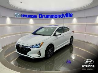 Used 2019 Hyundai Elantra SPORT + MAGS 18 PO + TOIT + CUIR SPORT + for sale in Drummondville, QC