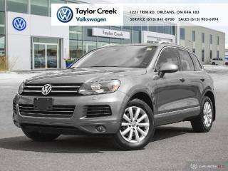 Used 2013 Volkswagen Touareg Comfortline 3.0 TDI 8sp at Tip 4M for sale in Orleans, ON