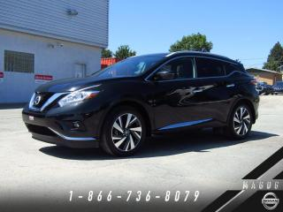 Used 2016 Nissan Murano PLATINUM + NAVI + CAMERA 360 + CUIR + TO for sale in Magog, QC