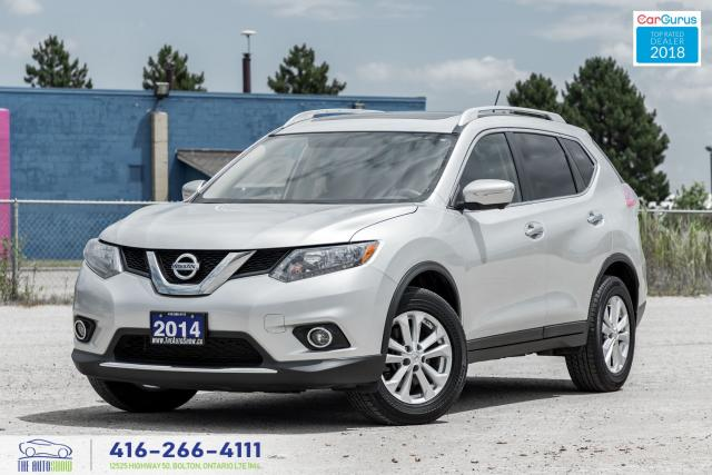 2014 Nissan Rogue AWD 7Seat NaviGpsPanoRoof 1Owner Nissan Serviced