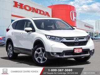 Used 2019 Honda CR-V EX POWER SUNROOF | HONDA SENSING TECHNOLOGIES | APPLE CARPLAY™ & ANDROID AUTO™ for sale in Cambridge, ON