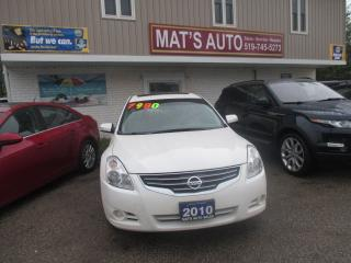 Used 2010 Nissan Altima SL LEATHER MOONROOF for sale in Waterloo, ON