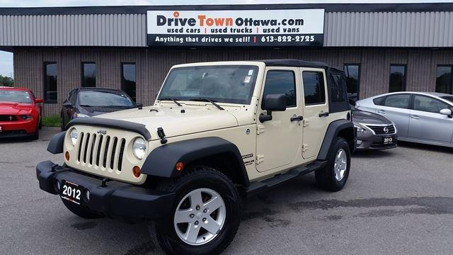 2012 Jeep Wrangler Unlimited SPORT **AUTOMATIC**LOADED**