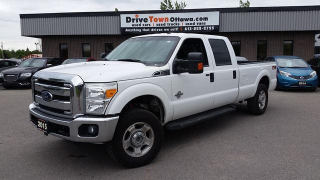 2015 Ford F-250 Super Duty FX4 CREW CAB 4X4 **DIESEL**8FT BOX**90 Days no Payments**