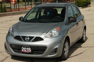 Used 2015 Nissan Micra S NEW Tires | NEW Brakes | AC | CERTIFIED for sale in Waterloo, ON