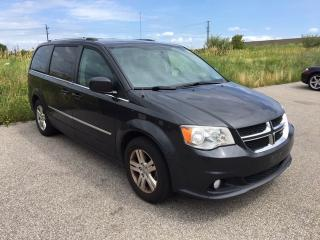 Used 2011 Dodge Grand Caravan CREW - NAVI|CAMERA|BLUETOOTH|PWR DOORS for sale in Ancaster, ON