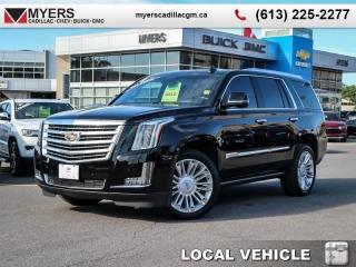 Used 2017 Cadillac Escalade Platinum  PLATINUM, DVD, POWER STEPS, NAV, TOTALLY LOADED for sale in Ottawa, ON